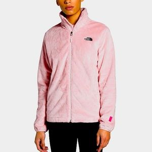 The North Face Soft Pink Fleece Jacket